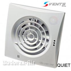 Wentylator łazienkowy Ø125 QUIET VENTS