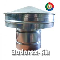 Wentylacyjny kominek dachowy z osłoną Ø100