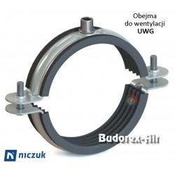 Obejma do wentylacji UWG 150 Niczuk