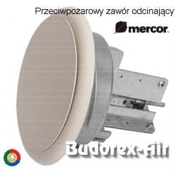 Przeciwpożarowy zawór odcinający Mercor ZIPP