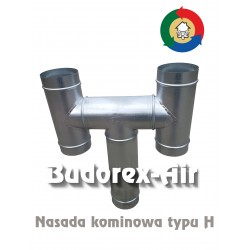 Nasada kominowa typu H Ø125