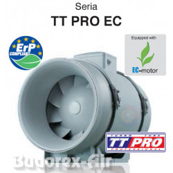 Wentylator kanałowy VENTS TT PRO 150 EC