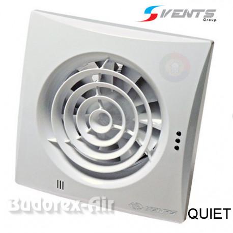 Wentylator łazienkowy Ø125 TH QUIET VENTS