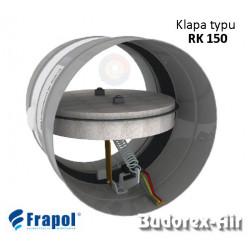 Klapa P-poż typu RK 150 Ø100 Frapol
