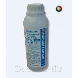 Płyn biobójczy myjąco dezynfekujący NANOCLEAN-AIR,1L MC-8803B